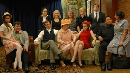 The Cast of the The Importance of Being Earnest