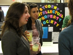 Students at the Organization Fair During Admitted Student Weekend