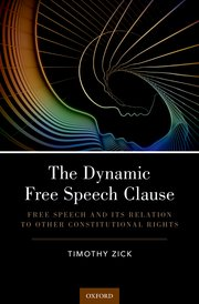 book jacket, The Dynamic Free Speech Clause